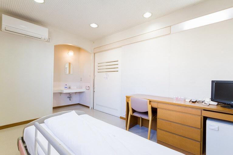 入院施設の完備